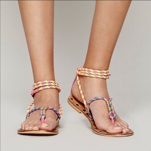 KIM & ZOZI for free people sandals